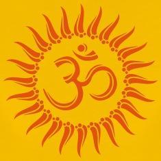 Om soleil bouddhisme spirituel yoga meditation tee shirts